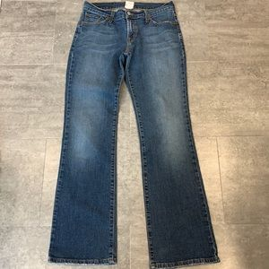 Lucky Brand Dungarees Jeans Mid-rise Flare 28 REG